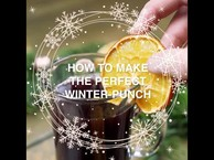 Advent recipe from Austria. Punch with red wine,  oranges,  cinnamon and cloves