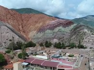 Amazing views of Purmamarca,  Jujuy