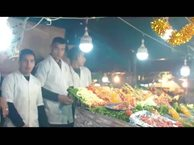 Marrakech. Creeping into Jemaa