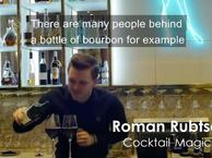 Roman makes epic cocktails in Oslo
