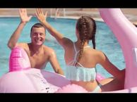 My way of aquafun with a family in Slovenia